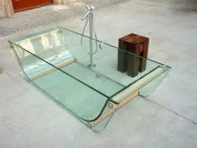 Glass Bathtub by Prizma Glass Bath Collection Contemporary Bathtubs