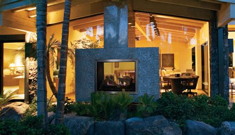 inside outside fireplace outdoor see through fireplaces ottawa indoor outdoor