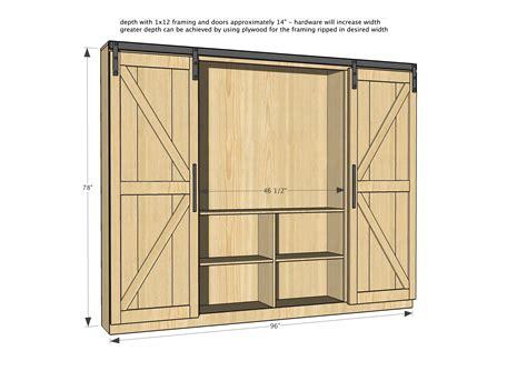 sliding cabinet door track hardware barn door project white sliding door cabinet for tv diy projects