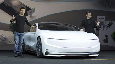 chinese electric car firm leeco  raised  billion