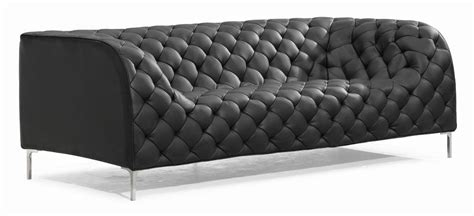 Sleeper Sofa Black by Chesterfield Couch