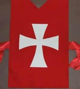 Knights Templar Cross Template