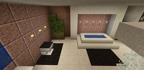 minecraft bathroom ideas minecraft bathroom garden tub toilet minecraft creations