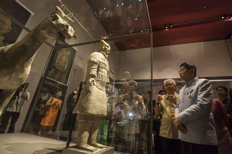 เปิดแล้วนิทรรศการหุ่นดินเผานักรบจิ๋นซีฮ่องเต้ อายุ 2,200 ปีครั้งแรกในไทย