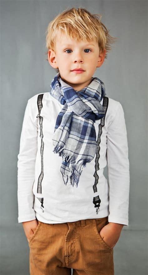 modne fryzury dla dzieci chlopcow