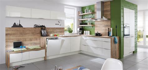 Nobilia Arbeitsplatte Betonoptik by Focus 460 Blanc Ultra Brillant Cuisines Modernes