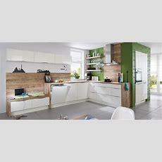 Focus 460, Weiß Ultrahochglanz (moderne Küchen) Nobilia