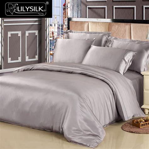 Silk Duvet Cover by Lilysilk 100 Mulberry Silk Duvet Cover 19mm Seamless