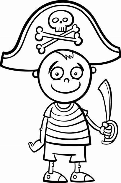 Pirate Pirata Colorir Colorear Clipart Boyama Korsan