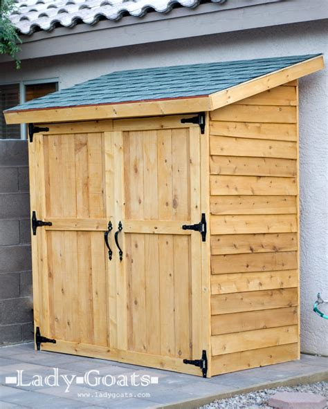 white small cedar fence picket storage shed diy