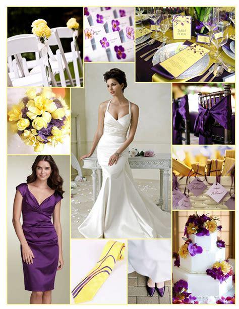 wedding theme purple and yellow 2011 s wedding colors seven nashville