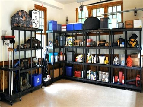 Garage Storage Shelves Design Ideas