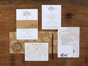 Magnolia rouge oak tree invitations by ruby and willow for Magnolia tree wedding invitations
