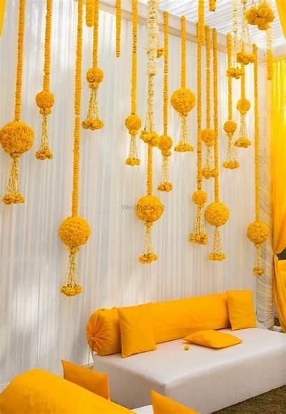 Wedmegood Marigold Decorations Ceremony Indian Intimate Decoration