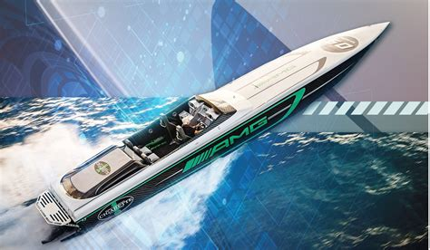 Cigarette Boat Magazine by Mercedes And Cigarette Racing Team Up On Hk 14