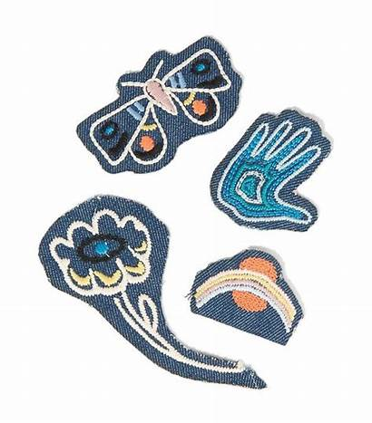 Patch Cool Patches Embroidered Wear Denim