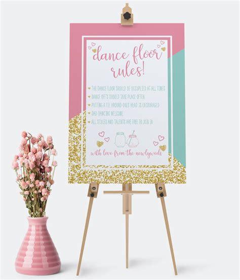 wedding signs the invite hub personalised wedding