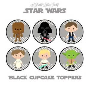 yoda cake topper wars cupcake toppers character cupcake toppers