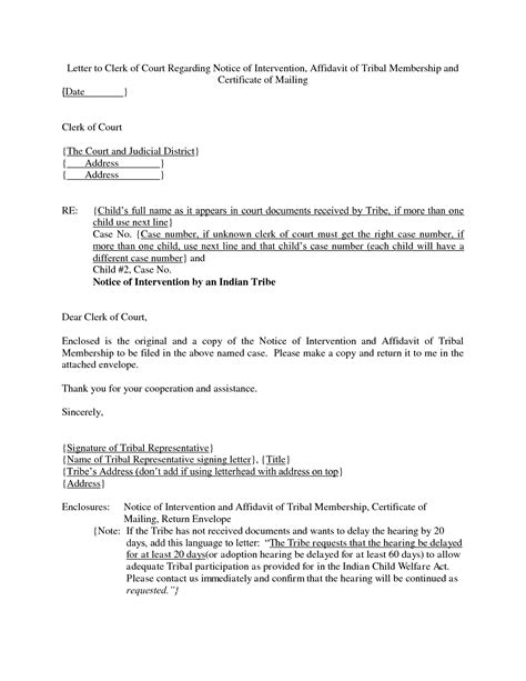 federal district court cover letter cover letter to clerk of court 28 images court