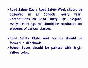 Road Safety / Highway Safety Tips for Parents and Teachers ...