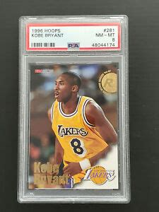 Ending today at 11:15pm pdt 4h 58m. 1996-97 (96-97) NBA Hoops KOBE BRYANT Rookie Card RC #281 PSA 8 LA Lakers   eBay