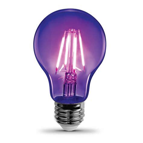 led black light black light led a19 feit electric