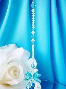 Crystal Suncatcher Turquoise Blue Feng Shui Decor ...  Blue