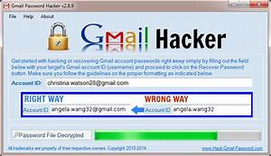 How can i crack my gmail password