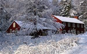 New England Winter Christmas