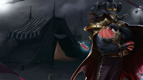 Twisted Image Twisted Fate Wallpapers Leaguesplash