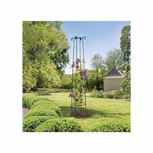 Support Plantes Grimpantes : support d coratif obelisk pour plantes grimpantes ou en ~ Dode.kayakingforconservation.com Idées de Décoration