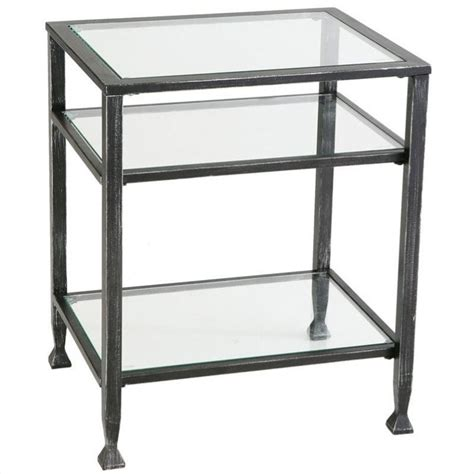 black metal end table holly martin guthrie metal end table in distressed black