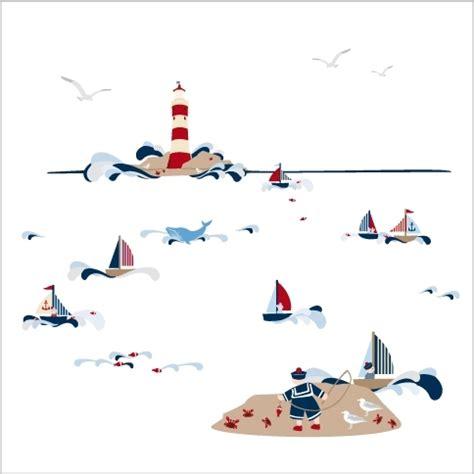 stickers marin chambre bébé vacances au bord de la mer c est toute l ée chez lili