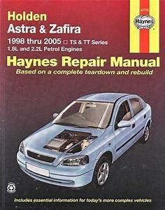 Holden Astra  U0026 Zafira Ts  Tt Series 1998