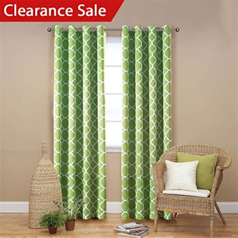 Green Curtains For Living Room Amazoncom
