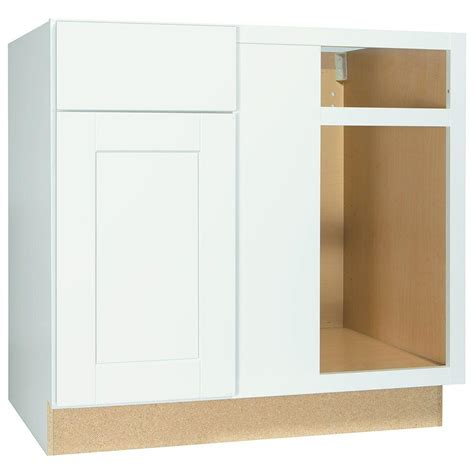 home depot kitchen cabinets prices hton bay shaker assembled 36x34 5x24 in blind base