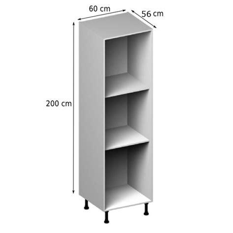 colonne cuisine 50 cm largeur meuble caisson colonne vial menuiserie cuisine jardin