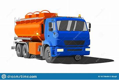 Truck Tanker Fuel Tank Gasoline Flat Benzina
