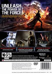Star Wars The Force Unleashed Box Shot For Playstation 2