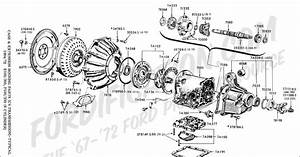 Ford C4 Transmission Diagram