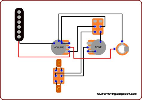 the guitar wiring blog diagrams and tips a lot from only one pickup wiring schematic