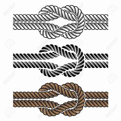 Knot Rope Clipart Square Vector Illustration Tattoo