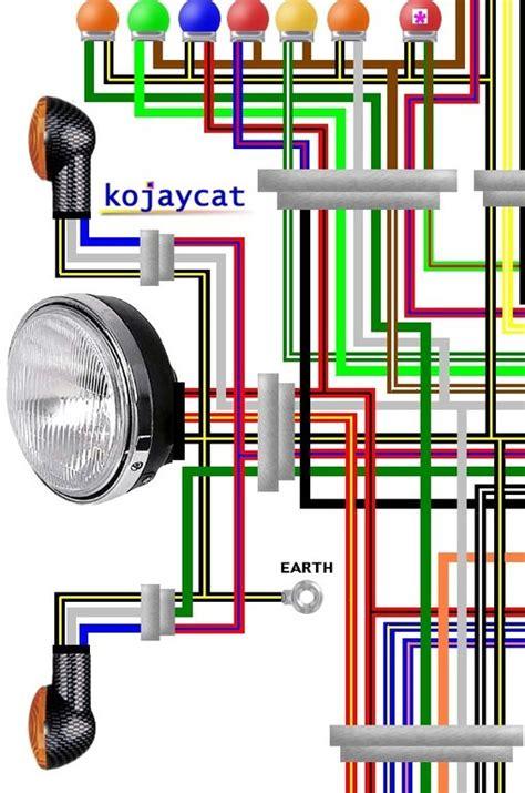 Kawasaki Zxa Ninja Usa Colour Wiring Diagram