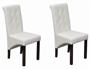chaises de cuisine blanches petite table de cuisine 2 With meuble salle À manger avec chaise blanche pas cher