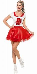 Adult Grease Sandy Cheerleader Costume - 25873 - Fancy ...