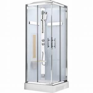 Cabine De Douche 90x90 : cabine de douche carr 90x90 cm ilia ch ne leroy merlin ~ Dailycaller-alerts.com Idées de Décoration