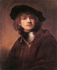 Rembrandt Self Portrait Young