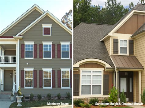 shutter colors for beige house house and shutter color combinations hardie