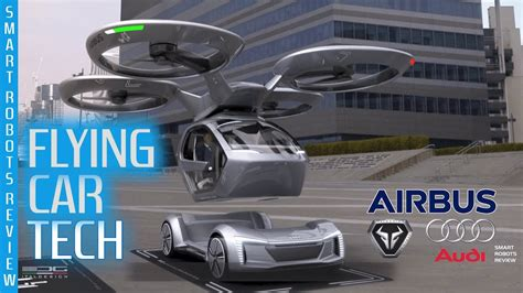 Audi Flying Car by Flying Cars Tech By Italdesign Audi And Airbus Pop Up