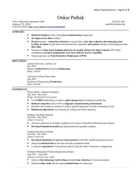 28 industrial engineer resume industrial engineer resume